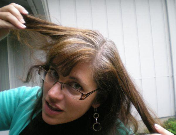 Как сделать седые волосы натуральными