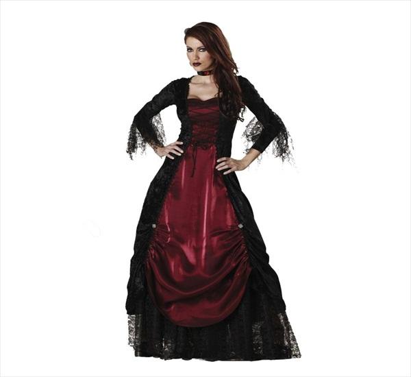 Vampire look for Halloween