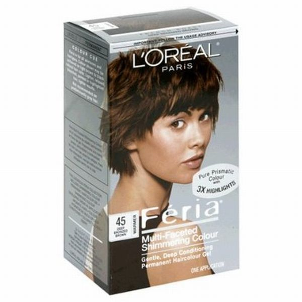Loreal Feria Hair Color Shades Feria multi faceted french