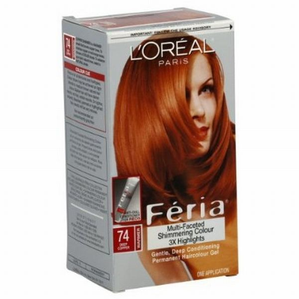 Medium Copper Blonde Hair Color