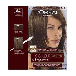 Нейтрально коричневый цвет волос