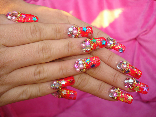 Cute-Simply-party-Nail-design (7)