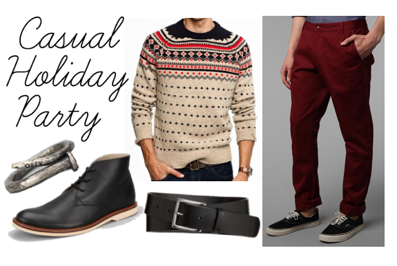 Style Girlfriend Casual Holiday Party