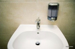 Sink and soap
