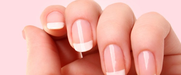French manicure top twists in this art 2013