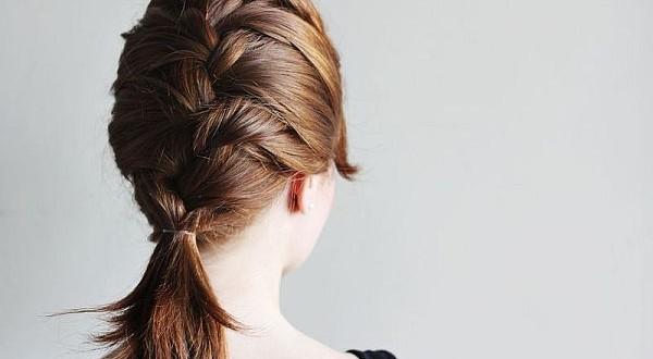 French braid hair _2
